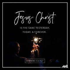 Happy New Year! #VOTD #Bible #Jesus #HeDoesNotChange