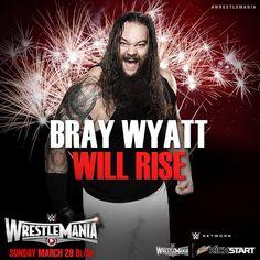 WWE WrestleMania 31: Bray Wyatt will rise