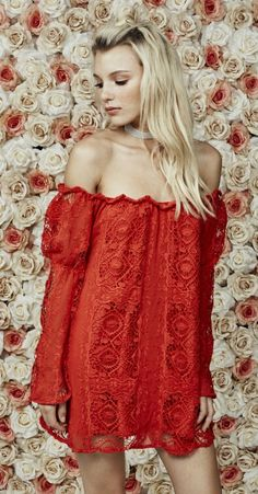 This dress from For Love & Lemons is absolutely gorgeous.... Must have! ♡