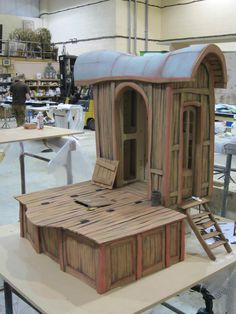 The Frou Frou Cart produced by Cod Steaks for the 2014 film 'The Boxtrolls' #boxtrolls #props