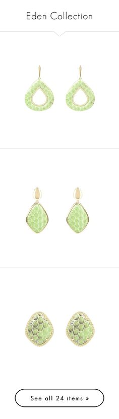 """""""Eden Collection"""" by latelita ❤ liked on Polyvore featuring jewelry, earrings, lime green earrings, earrings jewelry, anaconda jewelry, snakeskin jewelry, lime green jewelry, diamond earrings, diamond jewellery and diamond earring jewelry"""