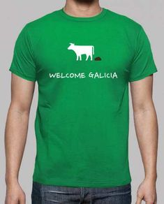Prezzi e Sconti: #T-shirt sterco benvenuto galizia  ad Euro 21.90 in #Tostadora #T shirt uomo