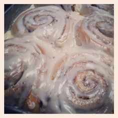 These cinnamon rolls may look like they take a lot of time. But they don't if you plan ahead! I make these before I go to bed at night an...