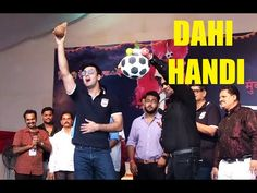 Ranbir Kapoor At Mumbai City Football Club Dahi Handi Utsav 2016.