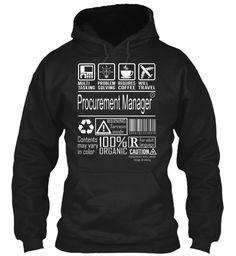 Procurement Manager - MultiTasking #ProcurementManager