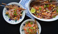 Risnuddelsalat med sweet chili | Risnudler