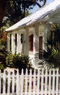 "Tennessee Williams first visited Key West in 1941. In the late 1940s he purchased the 1431 Duncan St. house that remained his home until his death in 1983. He completed ""Summer and Smoke"" in Key West and wrote ""Night of the Iguana"" among other works."