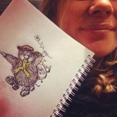 Ludvig fra Flåklypa Tattoo Ideas, Tattoos, Drawings, Tatuajes, Japanese Tattoos, Sketches, Tattoo, Drawing, Tattoo Illustration