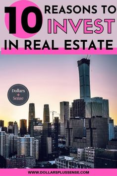 There are so many amazing reasons to invest in real estate. In this article, I will show you the top 10 reasons you should invest in real estate. Real estate is a great investment that can help build true wealth over time. Consider making real estate a part of your investment portfolio if you hope to reach financial freedom in the future Read my top reasons for investing in real estate. Money Plan, Money Tips, Grant Money, Best Online Jobs, Financial Organization, Multiple Streams Of Income, Investment Portfolio, Mortgage Payment, Early Retirement
