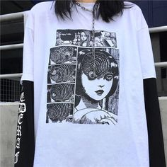 Sweater Outfits – Page 7155682045 – Lady Dress Designs Anime Outfits, Grunge Outfits, Fashion Outfits, 50 Fashion, Cheap Fashion, Affordable Fashion, Fashion Styles, Mens Fashion, Mode Grunge
