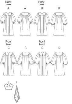 Butterick Sewing Pattern Men's/Women's Yoked Robes and Collars Graduation Robes, Graduation Cap And Gown, Hook And Loop Fastener, Collar Pattern, Sewing Patterns, Crochet, Fabric, Priest Outfit, Dress Pesta