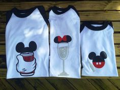 His and Hers Family Disney shirts by ProjectBoothDesigns on Etsy