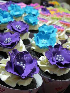 Cupcakes 15 años Julii