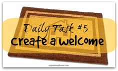Daily Task 5 - create a welcome