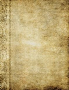 old grunge paper texture background with ornate design