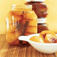 Spiced peaches