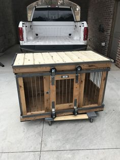 Farmhouse Style single dog kennel by Kennel and Crate! Barn door rollin' door th… , … Farmhouse Style single dog kennel by Kennel and Crate! Barn door rollin' door th… , Plastic Dog Kennels, Wooden Dog Kennels, Luxury Dog Kennels, Dog Crate Furniture, Dog Kennel Cover, Dog Cages, Dog Fence, Dog Houses, Crates