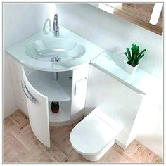 Small bathroom vanities with sinks tiny bathroom sink ideas fabulous tiny bathroom vanities tiny house bathroom Small Bathroom Sink Vanity, Half Bathroom Remodel, Simple Bathroom, Modern Bathroom, Unit Bathroom, Bathroom Ideas, Bathroom Cabinets, Basement Bathroom, Best Tiles For Bathroom