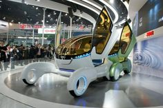 June 2012: The 2012 Beijing Auto Show - High-tech rides at Beijing Auto Show 2012