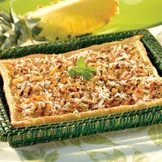 Grilled Pineapple Tart