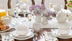 Mesa de café da manhã ou chá da tarde