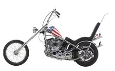 """Meet the """"Captain America"""" Panhead Harley-Davidson one of the biggest two-wheeled movie stars of all time"""