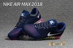 Nike Air Vapormax 2018 5.0 KPU Navy Blue Rainbow Women Men Running Shoes  Nike Air Vapormax 798c1a69dd7