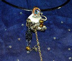 """Collier opale boulder du Queensland """" La tentacule du dragon """" : Collier par de-l-opale-aux-etoiles"""