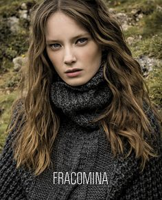 Fracomina F/W 17 - 18 (Various Campaigns) Dreadlocks, Long Hair Styles, Elegant, Celebrities, Winter 2017, Fall Winter, Model, Image, Beauty