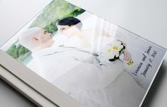 www.albumsremembered.com Custom Wedding photo album/Acrylic Cover 30 pages by Albums Remembered, $400.00