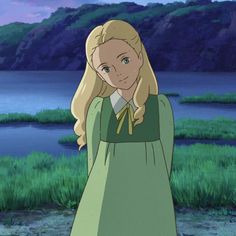 Anime Backgrounds Wallpapers, Cute Cartoon Wallpapers, Studio Ghibli Characters, Anime Characters, Anime Girl Drawings, Anime Art Girl, Erinnerungen An Marnie, Personajes Studio Ghibli, Pom Poko
