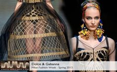 Dolce Gabanna Spring 2013 collection