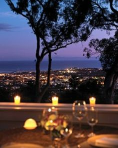 Panoramic Pacific views from the signature restaurant's terrace make for a romantic meal. #Jetsetter