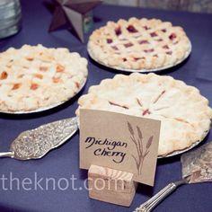 Wedding Pie Bar