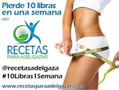 Plan completo para perder #10Libras1Semana   Adelgazar – Bajar de Peso