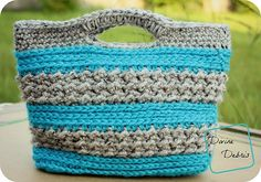 [Free Pattern] This Super-Cute Crochet Purse Is Very Easy To Work Up, In No Time At All! - Knit And Crochet Daily