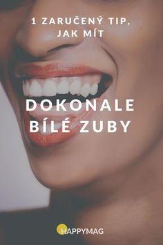 Toužíte po dokonale bílých zubech? Tady je jeden tip, jak mít krásně bílé zuby. #kokosovýolej #kokosovyolej #zuby #bílézuby #bilezuby You Are Beautiful, Life Hacks, Make Up, My Love, Health, Face, Tips, Fitness, Maquillaje
