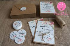 Svatební oznámení včetně zdobené obálky / Zboží prodejce Monchichiii   Fler.cz Container, Wedding, Presents, Valentines Day Weddings, Weddings, Marriage, Chartreuse Wedding