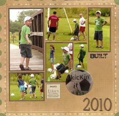Gallery - Scrapbooking - 2 Page Layout - Two Peas in a Bucket