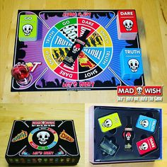 World's Most Dangerous Party Game... #madwish #Truth or #Dare #party #drinking #game    #truthordare #drinkinggame #houseparty #friends #fun