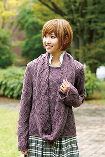 Ravelry: Chiffon Lace Sweater pattern by Pierrot (Gosyo Co., Ltd)