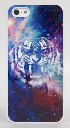 Spice Tiger Phone Case... inspired me to think of a cool new painting