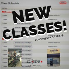 We're adding 50 New Classes! Tell your friends or bring a friend to one of our new class times. Check our website starting next week there will be brand new times for you to reach your fitness goals! #CorePlusFitness #orangecounty #lagree #megaformer #Fitness #fitnesslifestyle #fitfam #newclasses #gymlife #weekendalmosthere #weekendworkout #workout