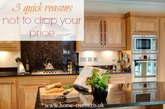3 quick reasons not to drop your price - Here are 3 reasons not to drop your asking price.Click to read