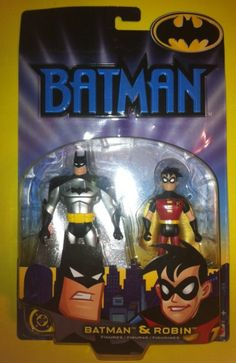 BATMAN AND ROBIN ACTION FIGURES BY MATTEL (2002)