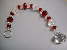 Rubies Roses and Diamonds BEADED Suncatcher by Beads4You2008,