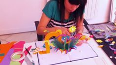 Making of video which shows the process of creation of the pieces that are part of the campaign Havaianas passport, visual-key built on color papercrafts and pop-up book animated on stop-motion.