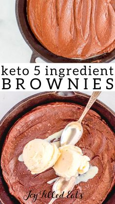 These healthy brownies are rich, decadent, and sinfully delicious. If you are looking for a fudgy low carb keto brownie, then you have met your match. Keto Brownies, Sugar Free Brownies, Sugar Free Treats, Healthy Brownies, Low Carb Sweets, Low Carb Desserts, Low Carb Recipes, Cooking Recipes, Diabetic Desserts