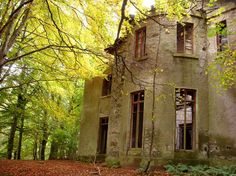 Deep in the forests of Aberdeenshire, Scotland, this abandoned mansion looks like it wouldn't beout of place in a horror film, with its amazing nineteenth century architecture left to crumble away overtime. Little is known about this mysterious house, but it is believed to have stood empty for over 70years, abandoned soon after World War One.