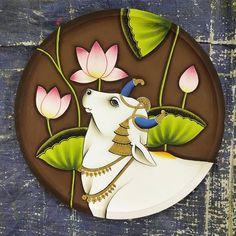 Rajasthani Painting, Rajasthani Art, Kerala Mural Painting, Art Painting Gallery, Pichwai Paintings, Indian Art Paintings, Kalamkari Painting, Madhubani Painting, Diy Crafts India